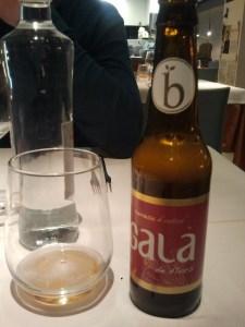 Aperitiu amb cervesa Gala de Flors