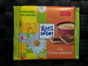 Ritter Sport crema catalana