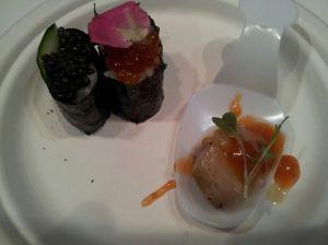 Tapa de caviar de Riofrío