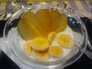 Iogurt amb fruites