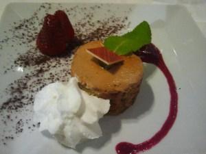 Pastís de xocolata a l'aroma de Ceilan
