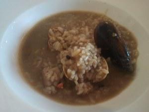 Un plat d'arròs caldós