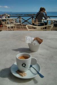 Cafè amb vistes