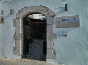 Exterior del restaurant Compartir