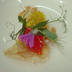 Plat floral a Cal Ros
