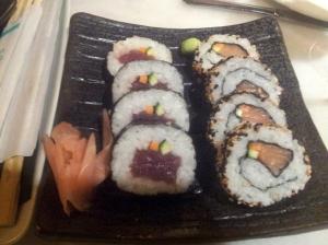 Maki sushi variat