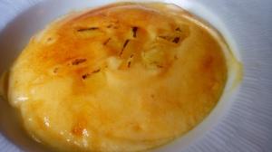 Crema catalana amb pinya