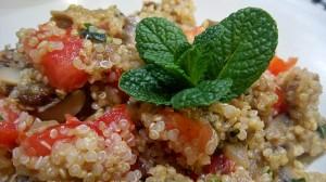 Quinoa amb verdures